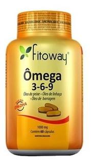 Omega 3-6-9 Fitoway - 60 Cápsulas - Fitoway