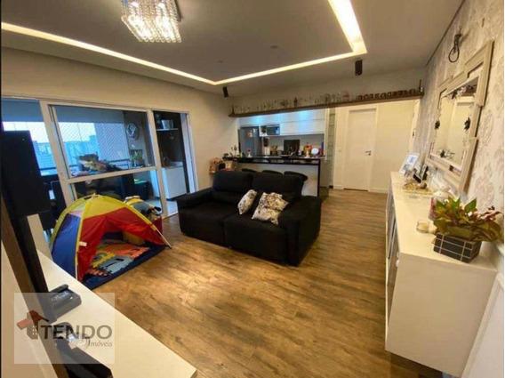 Apartamento 116 M² - 3 Dormitórios - 3 Suítes - Baeta Neves - São Bernardo Do Campo/sp - Ap1300