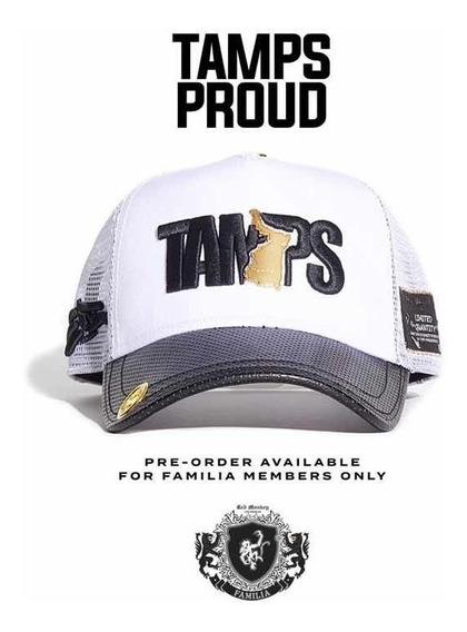 Gorra Red Monkey Tamaulipas Proud Oro De 18 Kilates