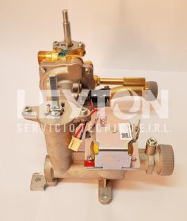 Válvula Enlace Gas Agua Armado Calefón Mademsa Forza Tfm 10