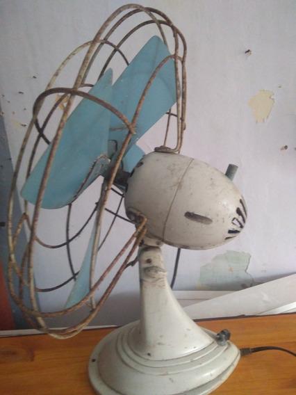 Ventilador Antigüo De Mesa -piso