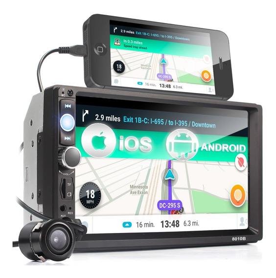 Central Automotivo Mp5 7 Bluetooth Espelhamento Fm Câmera Ré