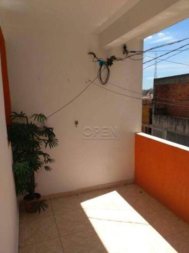 Imagem 1 de 14 de Sobrado Com 2 Dormitórios À Venda, 64 M² Por R$ 365. - Jardim Irene - Santo André/sp - So2417
