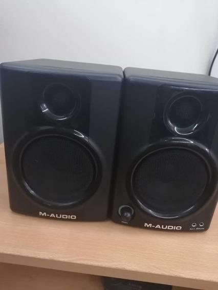 Monitores M-audio Av30 (cornetas)- 80 Verdes