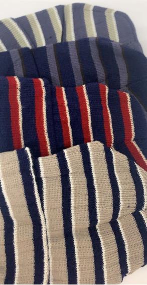 Touca Adulto Unissex Lã Listrado Inverno