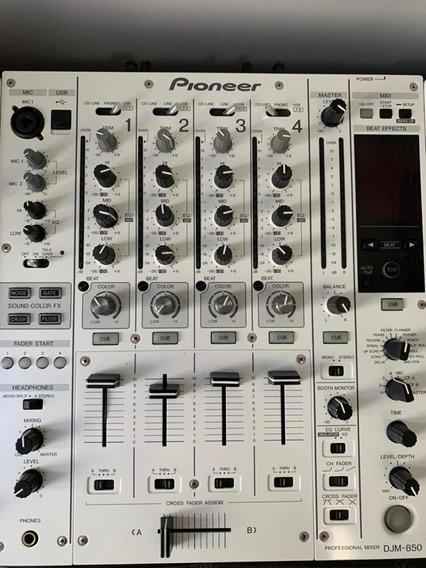 Mixer Pioneer Djm-850 + 2 Cdj-850 Semi Novo