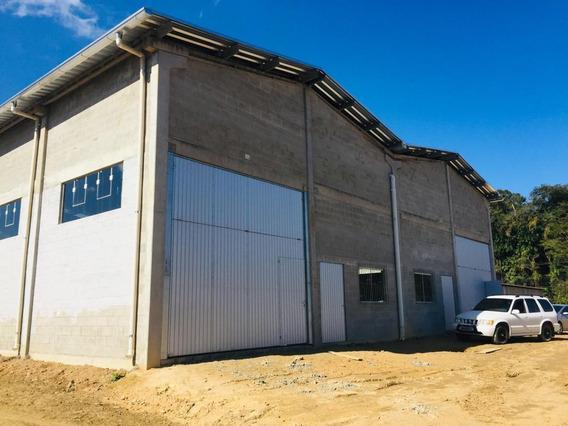 Galpão Para Alugar, 480 M² Por R$ 7.000/mês - Encano Baixo - Indaial/sc - Ga0103