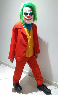 Disfraz Guason Wason Joker Niños Talla 4 Hasta 16 Halloween