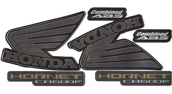 Faixa / Kit Adesivos Cb600 Hornet 2013 / 2014 Preta