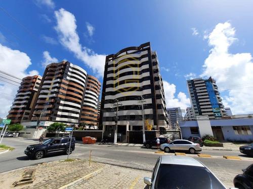 Apartamento À Venda, 4 Quartos, 3 Suítes, 3 Vagas, Ponta Verde - Maceió/al - 1138