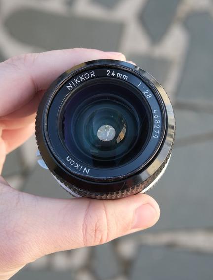 Lente Nikon 24mm 2.8