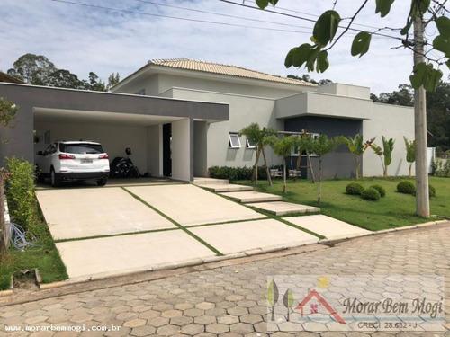 Casa Para Venda Em Mogi Das Cruzes, Condomínio Veredas, 4 Dormitórios, 4 Suítes, 5 Banheiros, 4 Vagas - 3125_1-984649