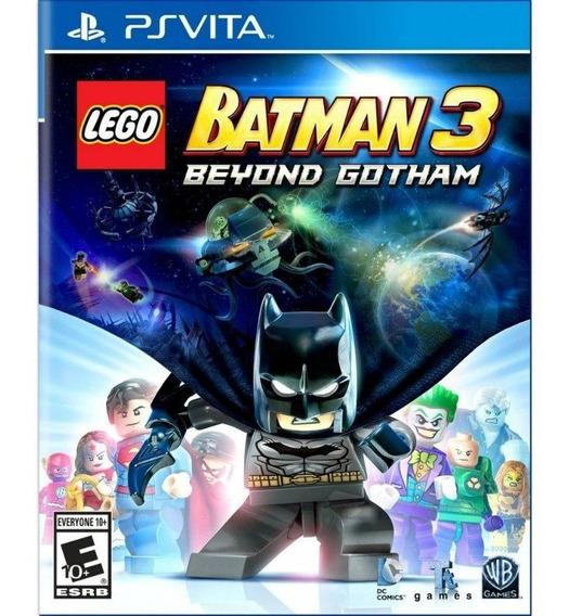 Jogo Usado Lego Batman 3 Beyond Gotham - Psvita Mídia Física