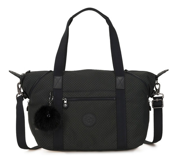 Bolsa Art Preto Powder Black Kipling