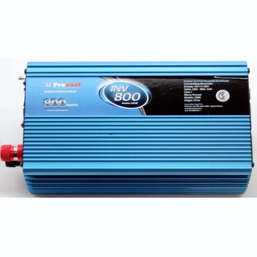 Conversor Inversor Tensión 12 Volts A 220 Volts 800 Watts