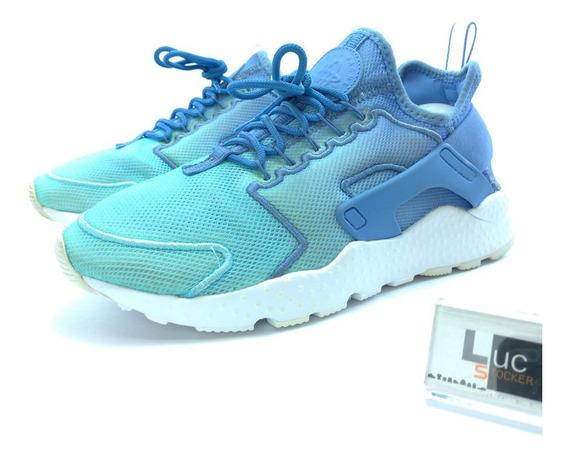 Tênis Nike Air Huarache Run Ultra Breathe Blue - Original
