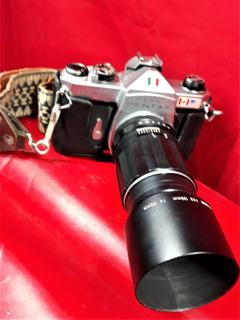 Pentax K1000 Lente Takumar 135mm Camara Polaroid