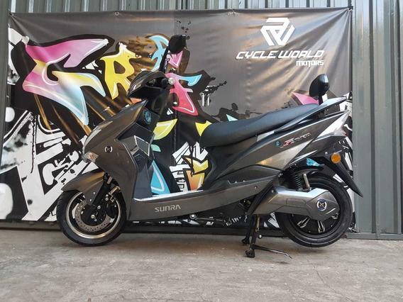 Moto Sunra Electrica Hawk Litio 3000w 0km Reservala 14/4