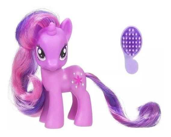 Juguetes My Little Pony Unicornio + Peine Equestria Niña