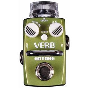 Pedal Hotone Verb Reverbe De Guitarra Frete Grátis