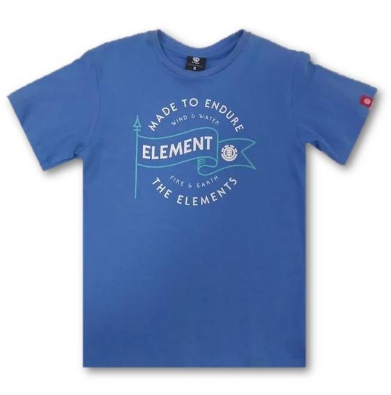 Remera Flag Tee Boys Element 23171010 Cce
