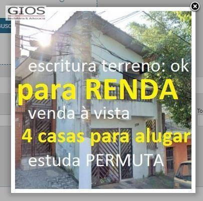 Sobrado Com 4 Dormitórios À Venda, 300 M² Por R$ 480.000,00 - Brasilândia - São Paulo/sp - So0064