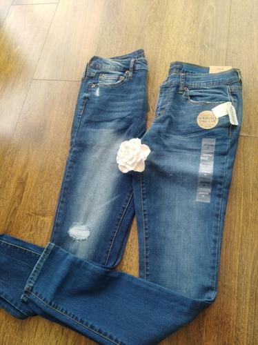 Jeans Mujer Tiro Medio Pantalon Aeropostale Azul Talla 36 Mercado Libre