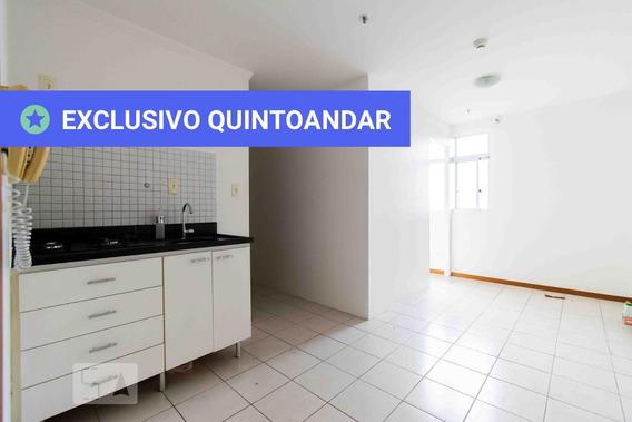 Apartamento No 8º Andar Com 1 Dormitório E 1 Garagem - Id: 892951373 - 251373
