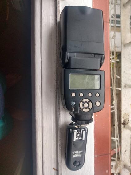 Flash Yougnou 568ex Ii Com Radio Transmissor.