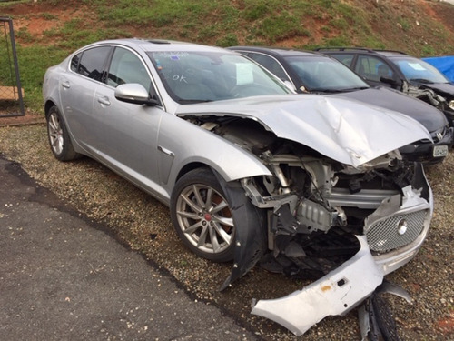 Jaguar Xf 2.0 Luxury 2014 - Sucata Para Venda De Peças
