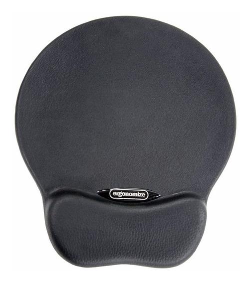 Mouse Pad Ergonômico Em Poliuretano (preto) - Ergonomize