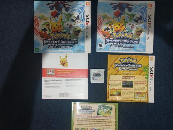 Pokemon Mystery Dungeon Gates To Infinity 3ds Original