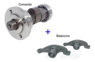 Kit Arvore Comando + 2 Balancins Cbx / Nx 150/200 / Xr 200.