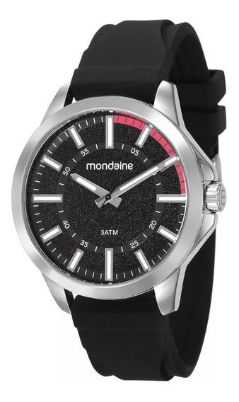 Relógio Mondaine Masculino Analógico Silicone Garantia 1 Ano