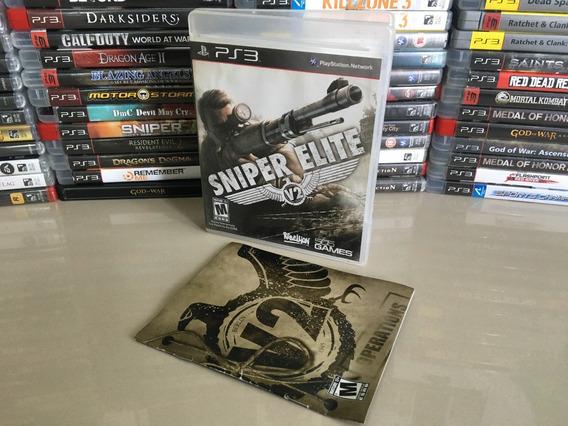Sniper Elite V2 Ps3 Original Semi Novo Dvd