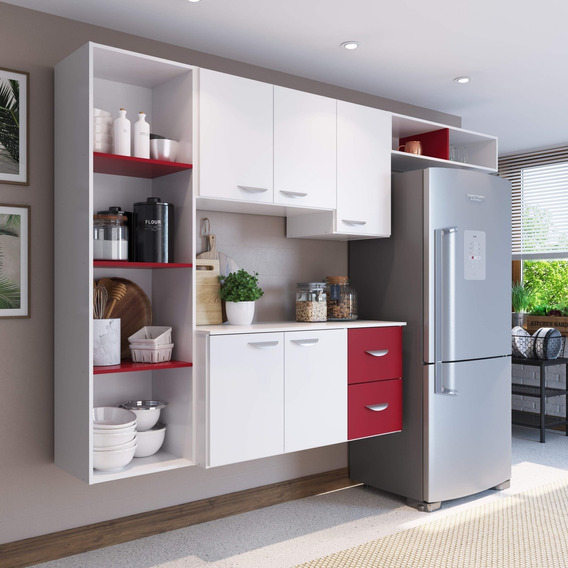 Cozinha Compacta 4 Peças 5 Portas Anabela Siena Eh