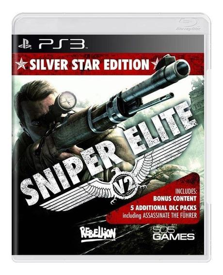 Sniper Elite V2 Silver Star Edition Ps3 Mídia Física