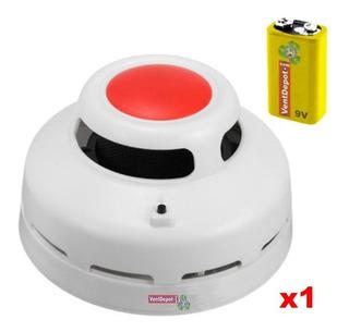Detector De Humo Salones, Mxsmo-001, 85db, Alarma Visual Ro