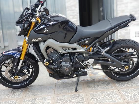 Yamaha Mt-09 Negra Con Peritaje 02/08/2019