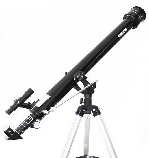 Telescópio Azimutal 900mm E Objetiva 60mm Greika Tele-90060