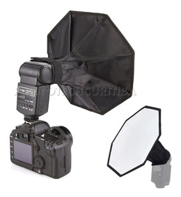 Softbox Difusor Octabox 30cm P/ Flash Dedicado Speedlite