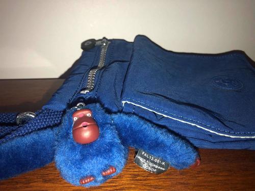Cartera Mujer Bandolera Kipling Original Azul