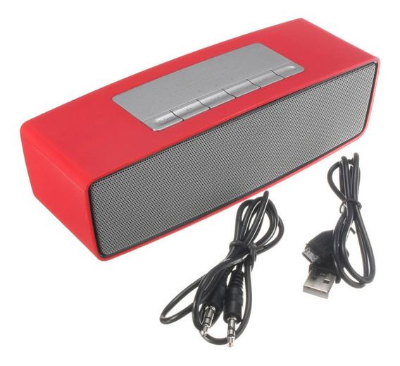 Portátil Bluetooth Sem Fio Fm Estéreo Mãos Livres Alto-falan