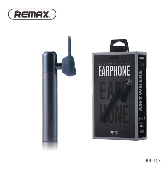 Fone De Ouvido Remax Busines Headset Bluetooth Rb-t17 V4.1