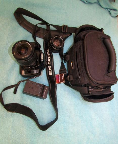 Canon 400 D Lente 18 55 0.258ft A + Zenit 50 M + Bolsa + 4gb