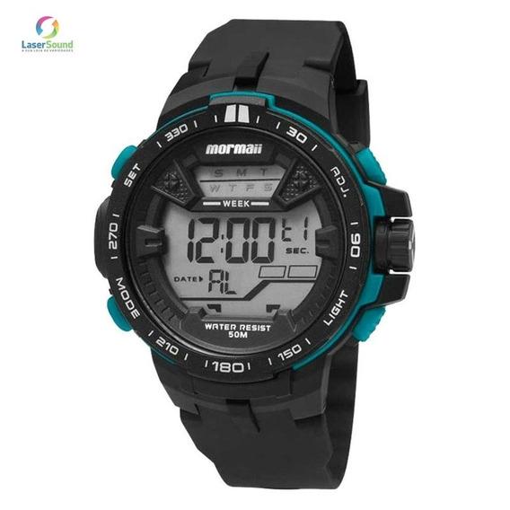 Relógio Mormaii Masculino Mo3390/8v C/ Garantia E Nf