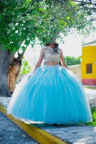 Vestido De Xv Años De Ragazza Fashion Talla 7