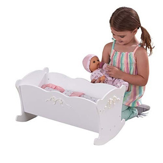 Kidkraft Tiffany Bow Lil Doll Cradle!