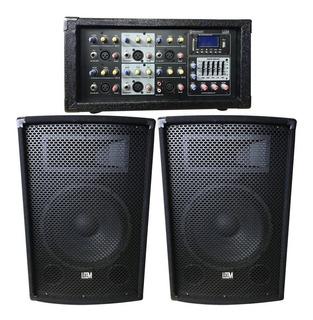 Combo Sonido Consola+bafles 12