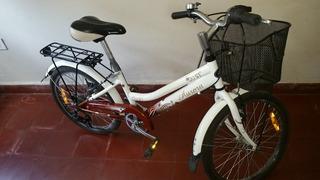 Bicicleta Aurora Ona 20 Manubrio Piñon Shimano 6vel Vbrakes